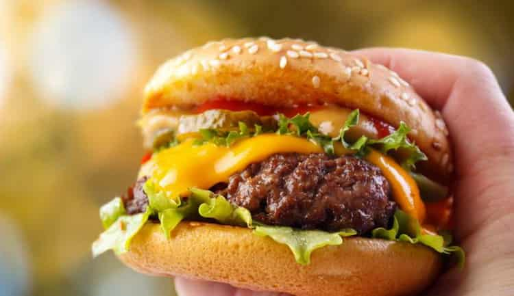 сколько калорий в биг тейсти
