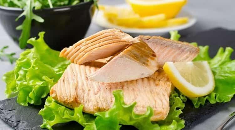 соленая горбуша калорийность
