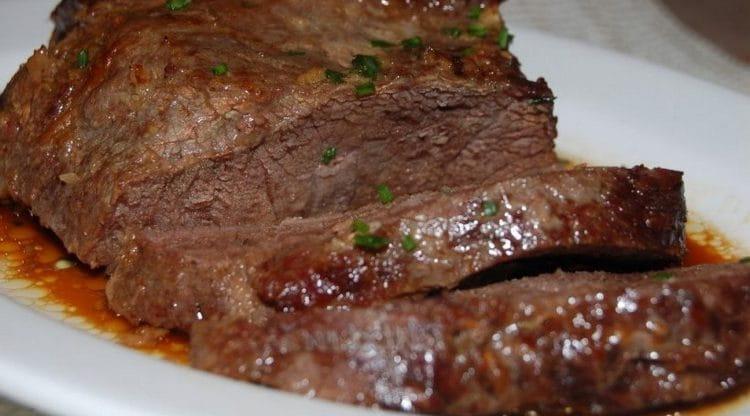 Можно также запечь говядину в фольге в духовке.