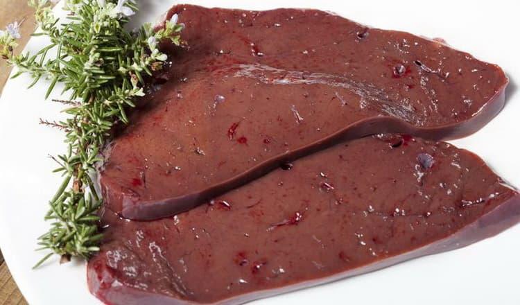 Калорийность говяжьей печени на 100 грамм