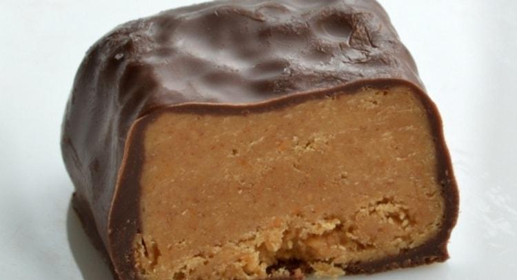Калорийность халвы в шоколаде очень высокая.