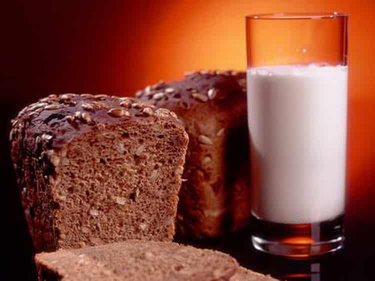 калорийность бородинского хлеба в 1 кусоке