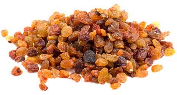 Изюм: калорийность, белки, жиры, углеводы