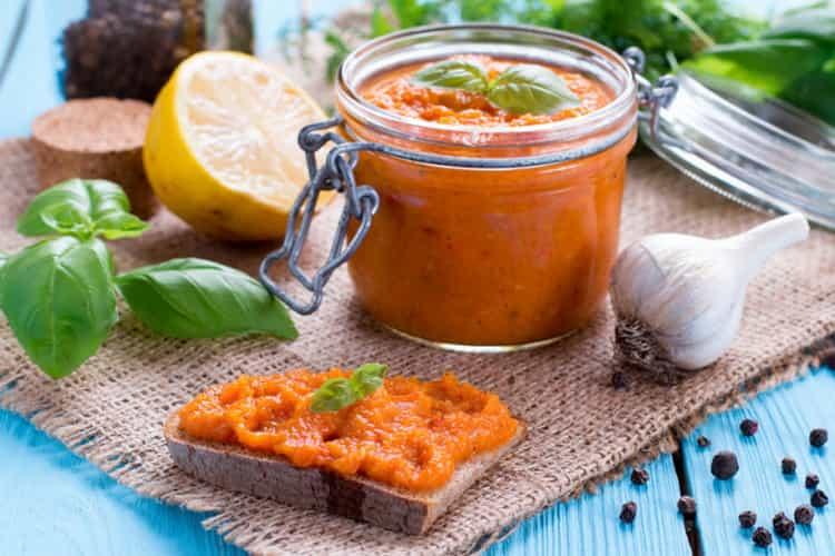 Кабачковая икра: калорийность, пищевая ценность, химический состав
