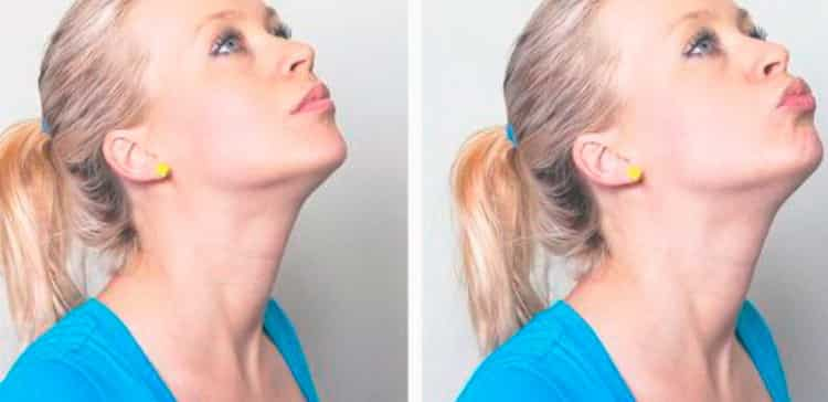 как убрать подбородок и похудеть в лице