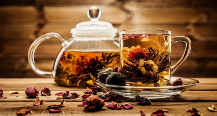 калорийность чай с лимоном
