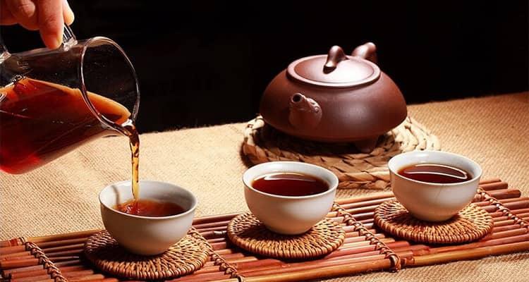 чай с лимоном калорийность