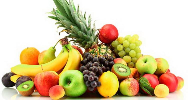 Таблица фруктов по калорийности