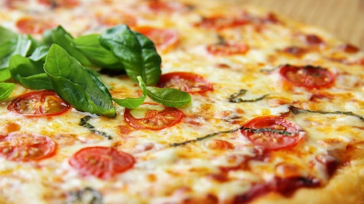 Пищевая ценность пиццы тоже высокая.