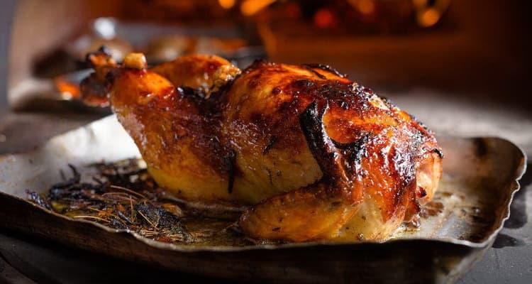 запеченная курица калорийность