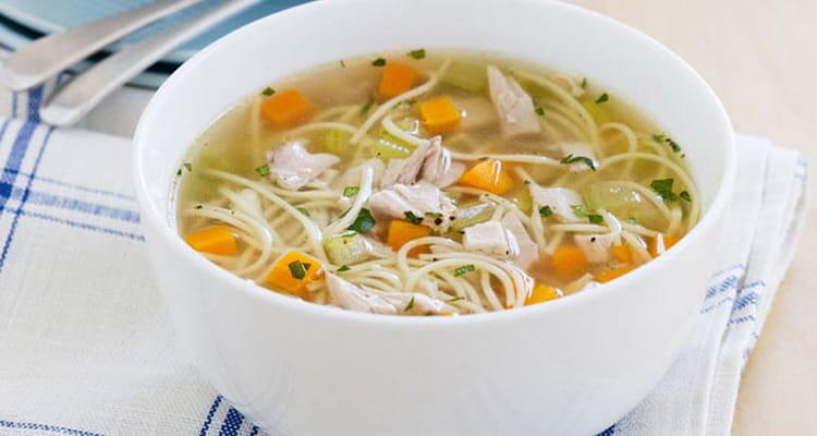 Калорийность курицы в супе