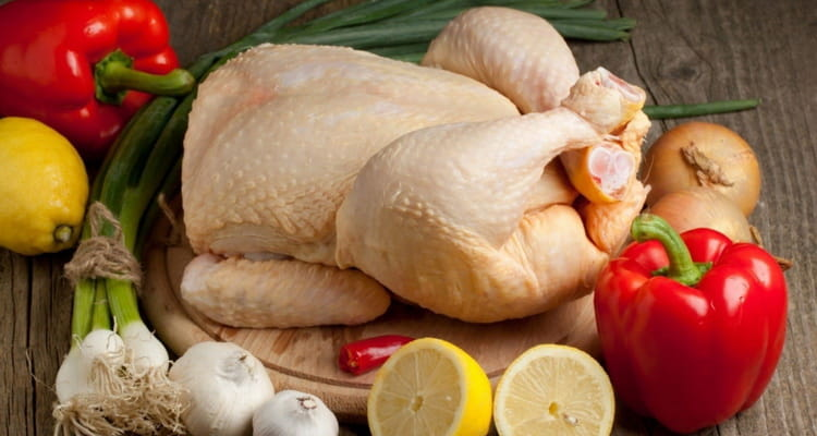 курица жареная калорийность