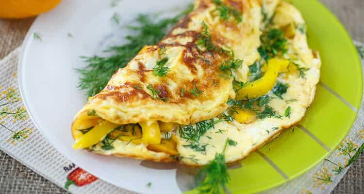калорийность омлета из 2 яиц
