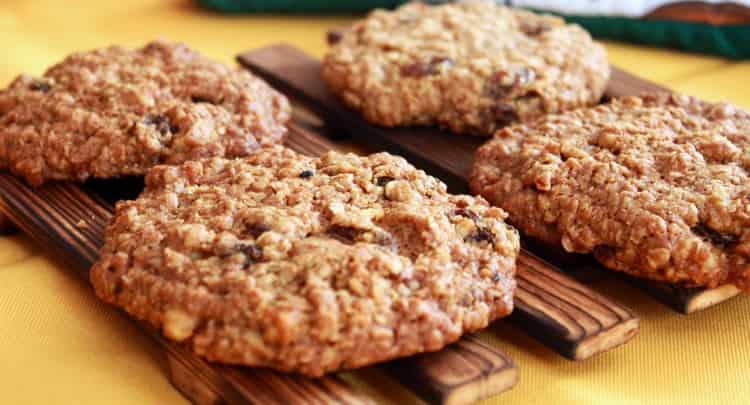 калорийность одного овсяного печенья