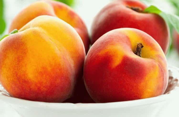 калорийность персика
