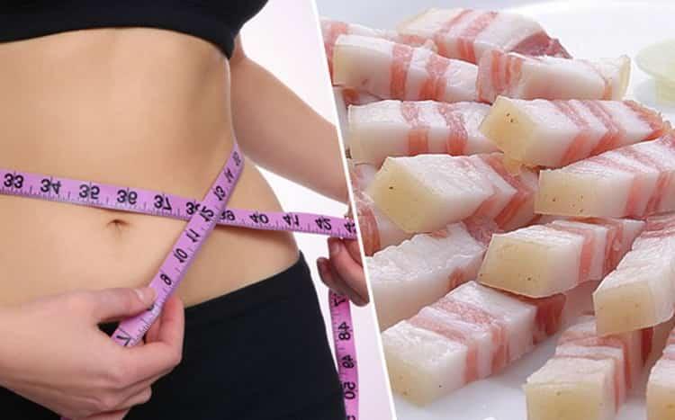 Можно ли кушать сало на диете