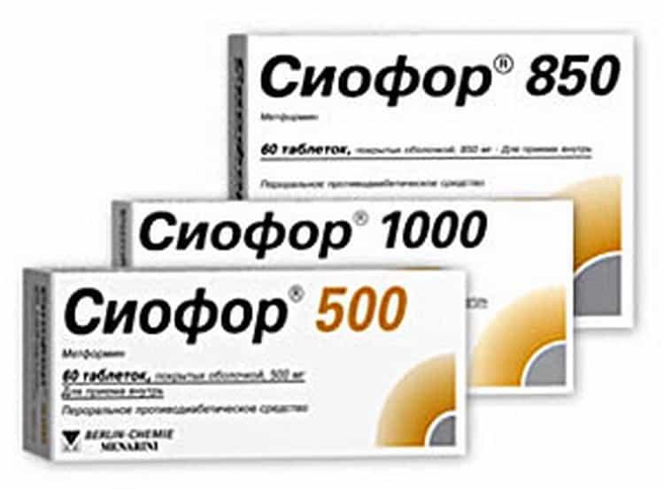 сиофор 850 инструкция по применению для похудения