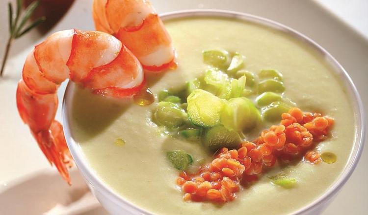 Со спаржей можно готовить изысканные супы.