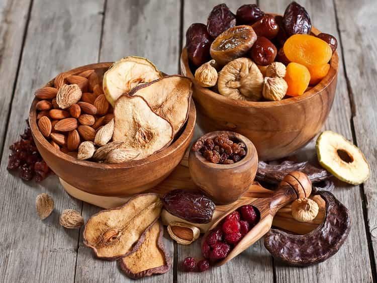 Какая калорийность сухофруктов и как их употреблять