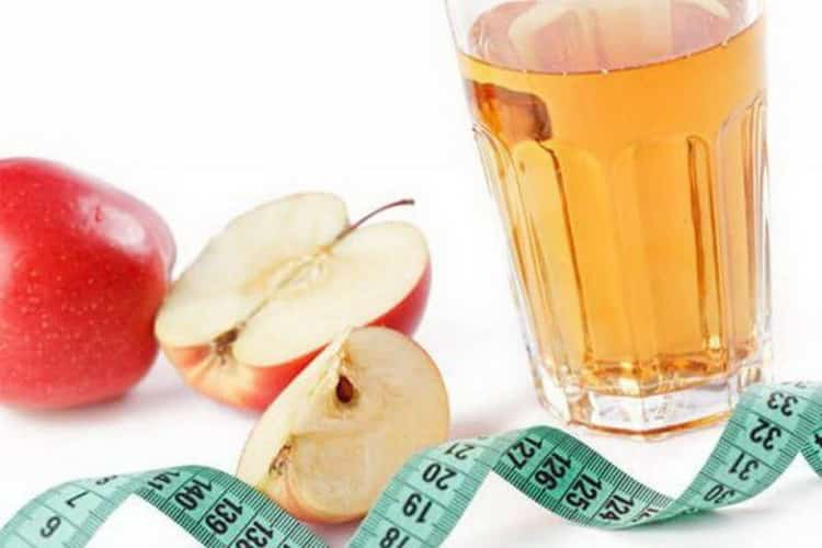 яблочный уксус для похудения как принимать