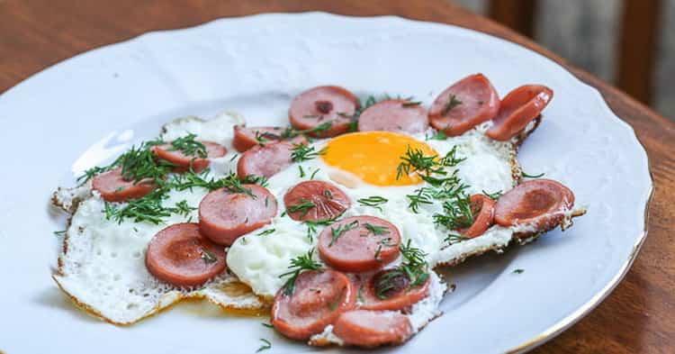 яичница из 3 яиц: калорийность