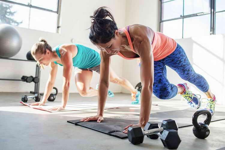 фитнес дома для похудения всего тела