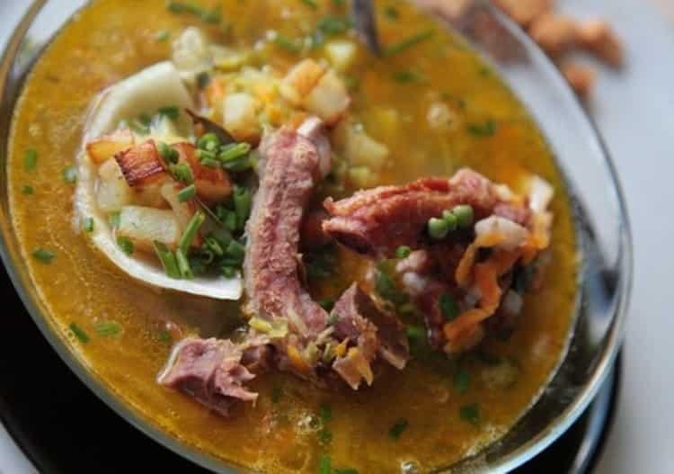 суп гороховый: калорийность без мяса