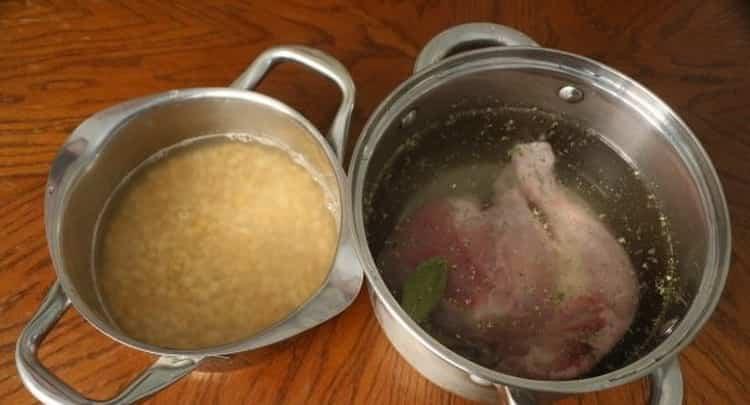 суп гороховый на воде: калорийность