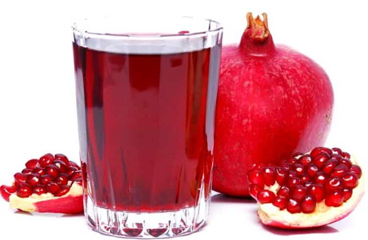 Какая калорий в гранатовом соке