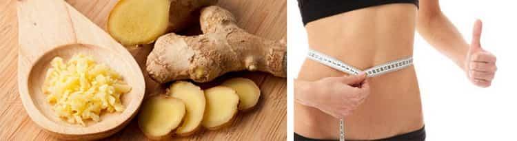 имбирь для похудения: отзывы