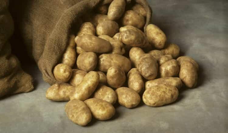 вареный картофель калорийность