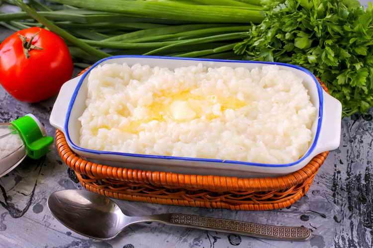 калорийность риса