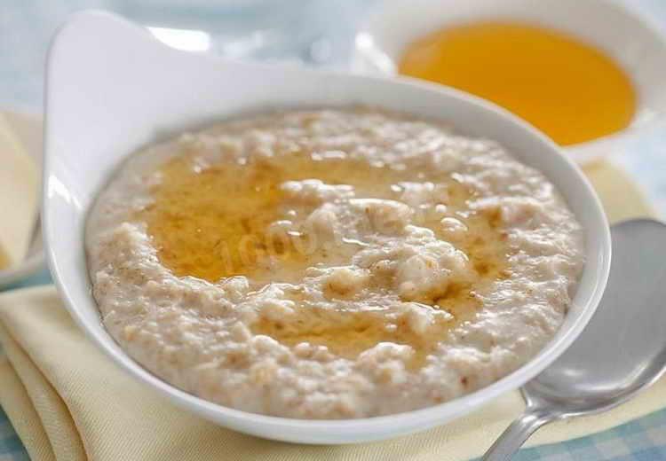 рисовая каша калорийность