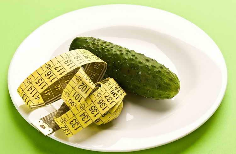 соленые огурцы калорийность