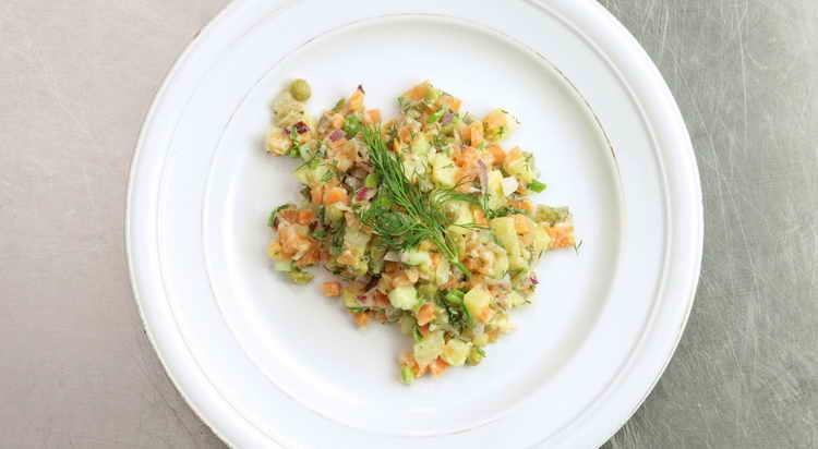 сколько калорий в оливье салате