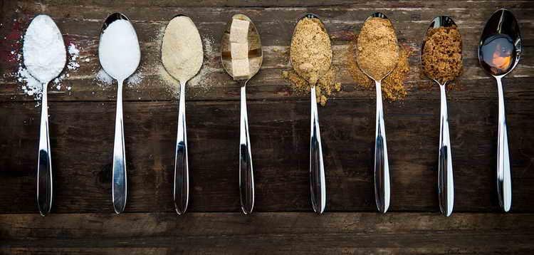 чайная ложка сахара калорийность