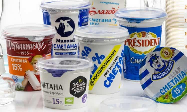 калорийность сметаны домашней