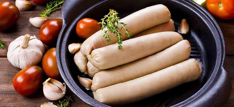 калорийность сосиски филейные