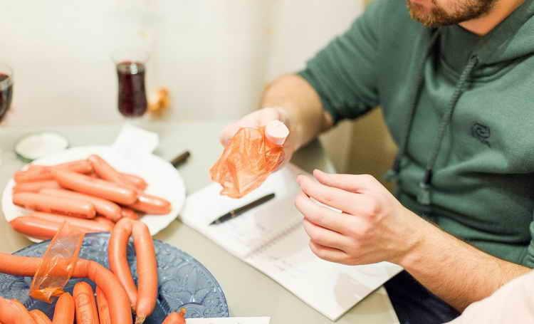 ганноверские сосиски калорийность