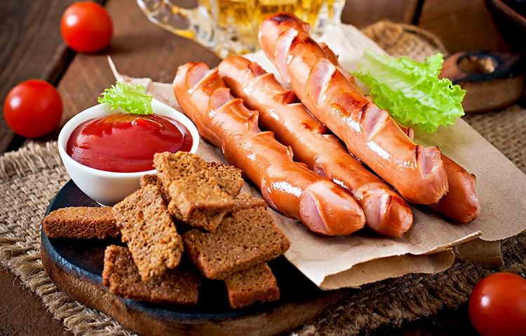 сосиски филейные останкино калорийность