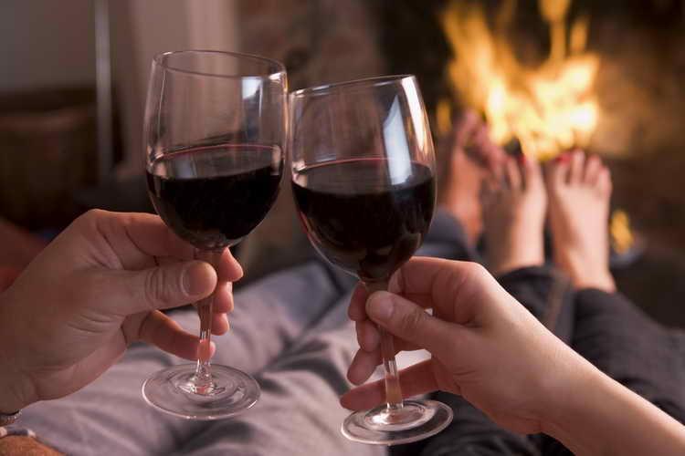 калорийность вина красного полусладкого