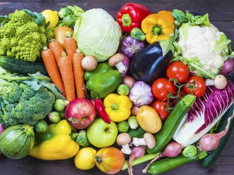 Полная таблица калорийности овощей