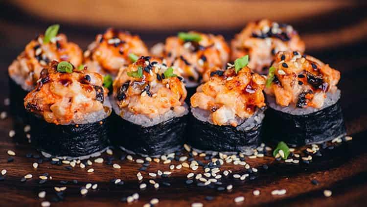 суши калорийность филадельфия