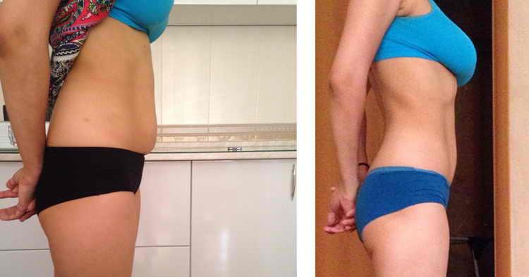 массаж живота для похудения отзывы с фото до и после