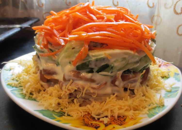 морковь свежая калорийность
