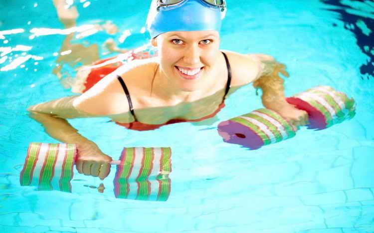 плавание для похудения для женщин результаты