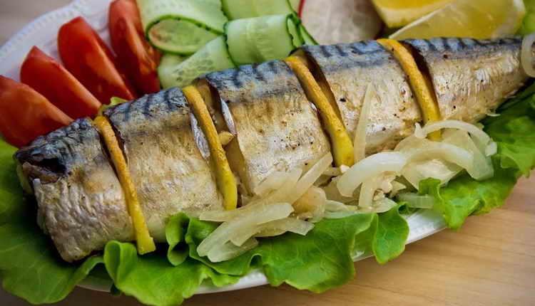 скумбрия соленая калорийность