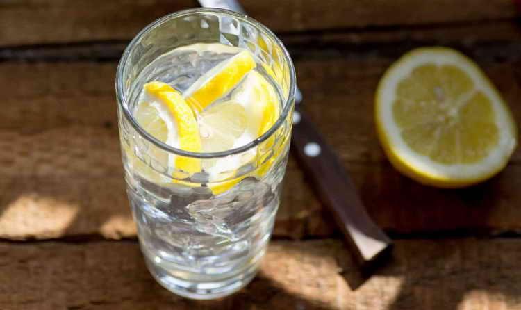 как пить лимон с водой для похудения