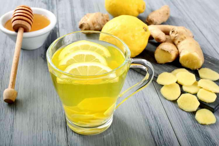 Имбирно-медовый лимонный напиток