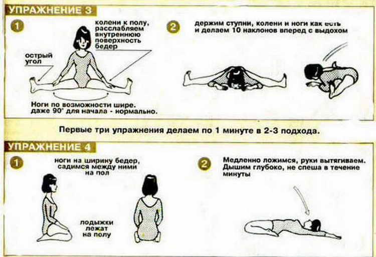 японская гимнастика для похудения упражнения
